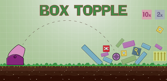 Box Topple - Knockdown