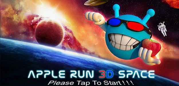 Apple Run 3D Space FREE